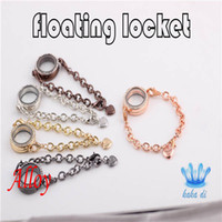 Wholesale Fashion Alloy Color mm Floating Locket Bracelet amp Bangle DIY Origami Owl Glass Locket Bracelets