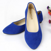 ballerina shoes - Brand New Women Female Lady Ballerina Flat Shoes Sweet Shallow Mouth Flats Casual Shoe ballet ballerinas Plus Size