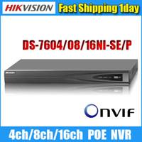 al por mayor hikvision 4 canales kit-DS-7608NI-SE / P DS-7616NI-E2 / 8P Videocámara de vídeo en red Onvif 4ch 8ch 16ch nvr cctv de Wholesale-Hikvision