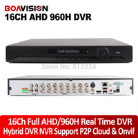 Wholesale Channel Full H AHD DVR Real time Recording Playback with HDMI P Output Ch Hybrid DVR NVR Onvif CCTV DVR Recorder