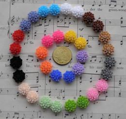 Wholesale 100 Mixed Colors Cabochon Resin Flowers Flatback Scrapbook Fit Phone Embellishment mm