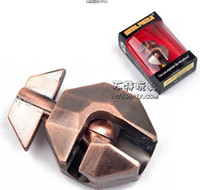 Wholesale of antitank grenade lock high grade Zinc alloy Brain Teaser Metal Puzzles
