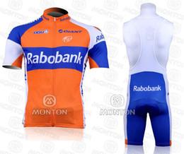 2011 Rabobank Short Sleeve Cycling Jersey + Bib Short SIZE:XS-4XL R093