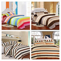 bed linen - now Striped bedding set printed bed linen bed set duvet cover bed sheet pillowcase king size twin size