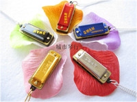 Wholesale New Mini Harmonica hole tone Necklace C Free shiping