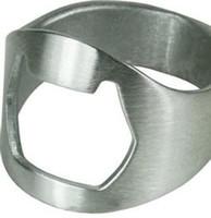 Botella de acero inoxidable del anillo de dedo abre-100pcs / lot