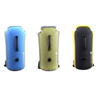 Wholesale Outdoor L Waterproof Bag Drifting Dry Bag Kayak Canoe Rafting Camping Yellow