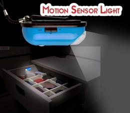 Wholesale-Free shipping wholesale Infrared Humen Body Sensor Led Lights Silver Motion Sensor Emergency Mini Night Light Induction Lamp