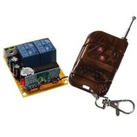 Wholesale 2 Channel Wireless Remote Control Switch Board amp Remote Control