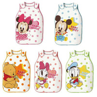 Cheap Baby Pajamas & Underwear sleeping bags vest cotton vest air cotton cartoon bibs0322016#20pcs
