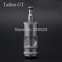 Cheap Wholesale-Newest Taifun GT Stainless Steel Atomizer RDA Rebuildable Vaporizer Clearomizer Taifun GT Mech MOD Atomizer