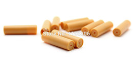 Wholesale-50 x Refills Refill cartridges 10-in-1 Electronic Cigarette Cartridge Refill Pipe for Mini V9 E-Cigarette Cartridge Refills