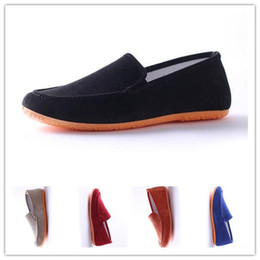 Wholesale-Men and women casual flat heels, sandals canvas lovers, outdoor leisure shoes, student flat shoes new canvas shoes 9 color