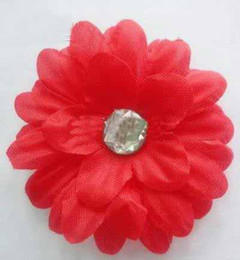 Wholesale 2inch daisy Gerber Daisy baby hair bows Children s clip girl flowers barrettes bands jk78gser
