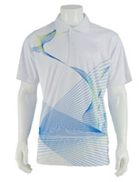 brand golf shirt - New Men s Brand sublimation Polo Shirt For Men printing Polos Men polyester Short Sleeve shirt sports jerseys golf tennis