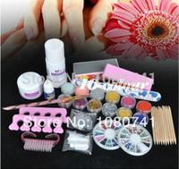 acrylic nail powder - kit nail gel buy Basic Acrylic nail kit Powder Liquid KITS NAIL ART TIP KIT Glitter Tool nails amp tools