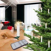 Wholesale remote control Christmas tree LED candle Xmas s Decorations Wedding Candle Christmas decoration