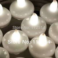 floating candles - CN Waterproof Floating LED Tea Light Candle