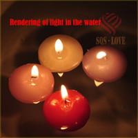 Velas Home-enfermos por mayor-flotante, una vez más la luz de las velas en las velas de decoración para el hogar favores del cumpleaños envío libre del rezo del agua