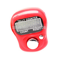 Wholesale Electronic Digital Digit Ring Tally LCD Counter High Quality