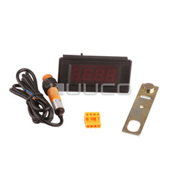 Wholesale-Cumulative type counter DC 5V Magnetic Induction Digital Counter for Punch Punch Theft Device Automatic doors etc