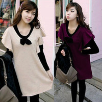 Wholesale Color Long Sleeve Elegant Pregnant Maternity Dresses Dress Fashion Women Maternity Dresses for Pregnant Women Tops Shirts