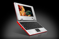 Wholesale NEW quot Mini WirelessNetbook Laptop Notebook Netbook WIFI GB HD MHz red pink green black color