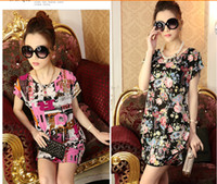 Wholesale HOT Summer maternity clothing amp short sleeve printed dresses for pregnant women amp plus size maternity dresses loose pregnant