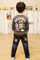 alphanumeric shirt - Cotton Casual Children Hoody Chapter alphanumeric models boys long sleeve Sweatshirts Autumn child Outerwear T shirt