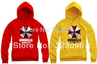 autumn corporation - cm height kids hoodie Resident Evil Umbrella Corporation symbol logo printed hoodies