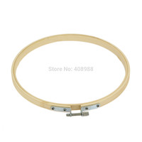 embroidery hoops - cm Wooden Embroidery Hoop Round Cross Stitch Bamboo Ring Needlepoint Sewing
