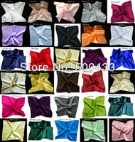 Wholesale Silk Handkerchief Square Pocket Hankies quot x13 quot cmx33cm HC001