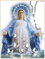 paintings mary - New Classical Virgin Mary diamond painting inlaid person paintings kits rhinestone diamond embroidery x40cm