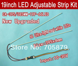 Wholesale mm Adjustable brightness led backlight strip kit Update your inch ccfl lcd screen panel monitor to led bakclight