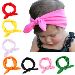 Wholesale x Baby Cotton Headband Knot Tie Headband Headwrap Vintage Head Wrap Hair Accessories