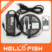 high power rf - HELLO FISH Non waterproof M LED LED strip and RF wireless controller A High quality power adapter