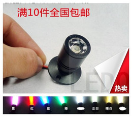 Wholesale-Led Spotlight CounterFlood Light Small Spotlights CounterJewelry Spotlights Clothes Lighting bulb mini 1w