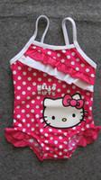 bby - children girl kids Kitty Mickey swimsuit swimwear beach wear bikini bathing suit swimming wear BBY