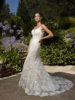 Wholesale 2011 Sexy New Spaghetti Straps Sheath Wedding Dresses Lace Gowns CB054