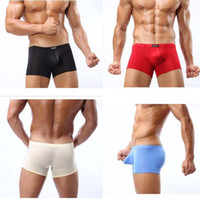 active men underwear - fashion mens boxer shorts Sexy underwear for men nylon underwear for men Colors Sizes