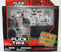 Wholesale New Sets FLICK TRIX BMX DIRT BIKE finger bikes