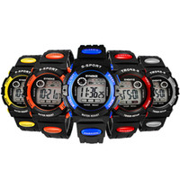 Wholesale Vogue Child Kids Multifunction Waterproof Electronic Sports Wrist Watch Hot and Drop Shipping