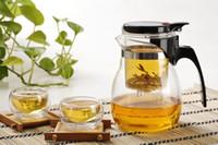 Wholesale tea cup High Quality Large Volume Group Enjoyable teaset Popular Great Design tea set ml Teapot cups ml ETP002