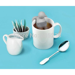 Wholesale Mr Tea Infuser Mr Tea Tea Strainers Novelty Lift in the Tea