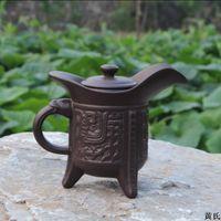 antique tea kettles - cc Royal purple clay teapot kettle teapot tall antique pot kongfu teapot tea set china teapot