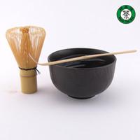 al por mayor ceremonia del té japón-Al por mayor-Té Matcha Set de Regalo : Matcha Tazón, Chasen y Chashaku Japón Ceremonia del Té Teawares TP136