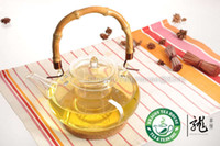 bamboo teapot handle - Bamboo Handle Large Glass Teapot ml oz CK AD
