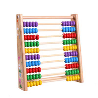 abacus row - Calculating Frames Row Baby Wooded Toys Abacus Color Rainbow Beads Computing Early Learning Math CM CT0047