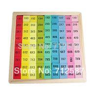 baby formula - Baby mathematics teaching toy multiplication formulas table puzzle