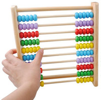 abacus mathematics - wooden toys vertical calculation the abacus children s educational toys mathematics teaching AIDS